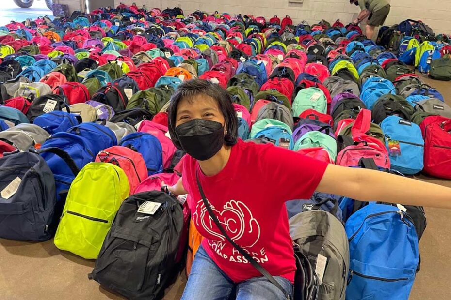 Backpack Contributions to Rainbow Days