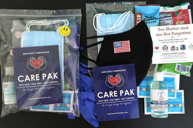 CarePak Donation during the Pandemic