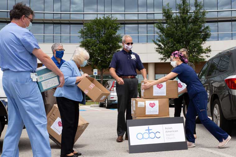 PPE Donations to Medical Communities
